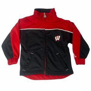 ~Boys size 24 months adidas Wisconsin Badgers top